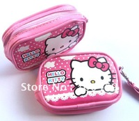 120pcs Hello Kitty purse cell phone pouches camera bag purse Free Shipping