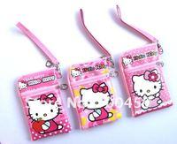 10pcs Hello Kitty Multi-purpose purse cell phone pouches purse P3/P4 bag Free Shipping