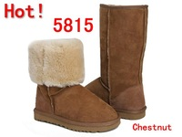 Wholesale - freeshipping !1pcs Popular Australia 5815 5825 5819 5803 snow boot 100% genuine sheepskin women's winter boots