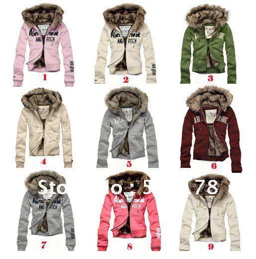 Winterjas bont vrouwen jas 12 kleuren dames jassen winterjas dikker dames breien mode warme - Lijst van warme kleuren ...
