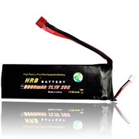 HRB,Brand  rc Lipo Battery 11.1V 3300MAh 25C +free shipping