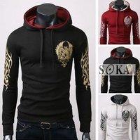 Latest Style Men's Cotton Blends Printing  Hoody,Popular Men's Coat  -SK304