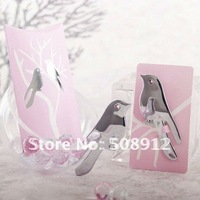 Free shipping Asia ! 30sets/lot love dove letter opener gift box wedding gifts wedding gift set for guests WG012