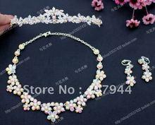 PROMOTION! FREE SHIPPING  wedding bridal jewelry sets,crown/tiara ,wedding hair pin(China (Mainland))