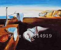 top selling wholesale Dali oil painting Persistence of Memory,free shipping
