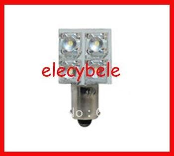 Cheapest Hot Sell Sale T10 BA9S 4pc superflux LED Car LED Light Auto Bulbs Interior Light LED Signal Lights 100pcs/lot