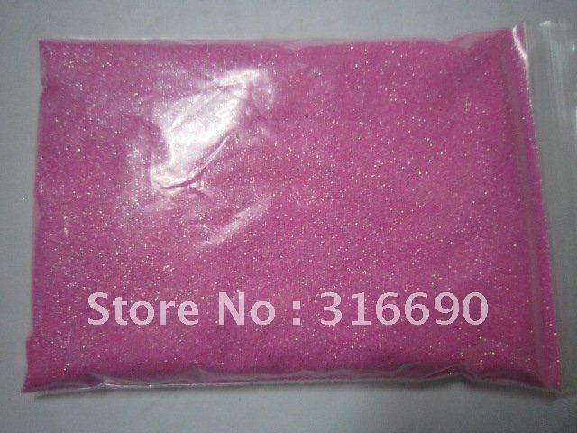 Free Shipping light pink Nail Glitter Powder/Glitter Dust/shining glitter powder for Nail Art/ 50g/bag(China (Mainland))