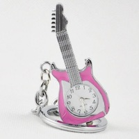 WP7006 promotional Pocket watch/ necklace/guitar Pocket watch/pocket watch with chain+mix style+freeshipping
