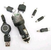 NEW! freeshipping wholesale USB car charger/cell phone charger/charger