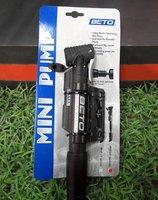 BETO CLD-029G double Bicycle pump gauge webbing strap lock