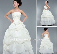 Popular Hot sale Ball Gown White Wedding dress