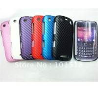 10pcs/lot&free shipping Leather Pattern Diagonal stripes Hard Back Case Cover for BlackBerry Curve 9350 9360