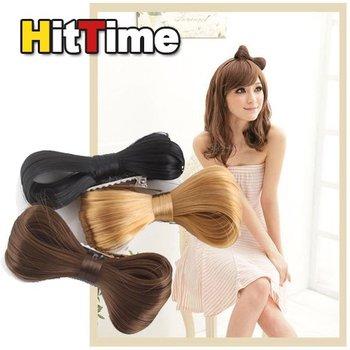 Fashion Women Hair Bow Bowknot Wig Hair Clip Party  [4996|99|01]