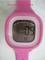 Free Shipping (15pcs) Digital Jelly Watch Of High Quality