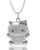 40pcs hello kitty necklace wristwatch Children watch clock Xmas