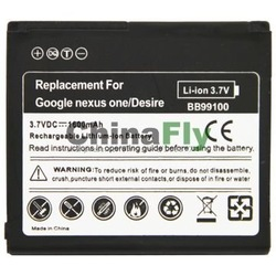 Battery Replacement for HTC Desire/ for HTC Google Nexus One (Model:BB99100)(BATY-G7)(China (Mainland))