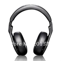 free shipping pure black dj stereo headphone Professional DJ Headset High Performance noise-cancelling DE dj T-O-X