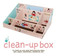Free Shipping/Made in Korea DIY monopoly cute desktop box ( pink )