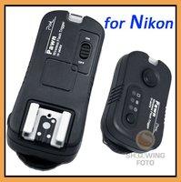 Wireless Remote Control&Flash&Studio trigger 3 in 1 for Nikon Digital SLR