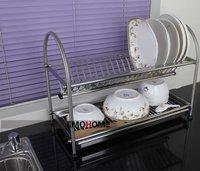 Stainless Steel 20 pcs Dish Drainer, drying Rack, Cutlery Holder, Dish Drainer, Utensil Tool Holder, Kitchen shelf  N.W 3KG more