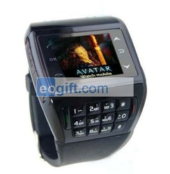 Watch Mobile Phone Avatar ET-1 GSM Quad Band Sports MP3 MP4 Bluetooth FM Watch Phone(China (Mainland))