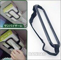 Car sun visor Tissue paper box holder Auto seat back accessories hold clip- 1505