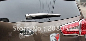 free shipping! 2011 KIA Sportage accessories windscreen wiper decoration ABS chromed 4pcs
