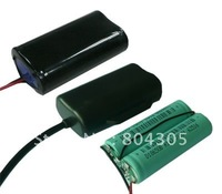 Free DHL/FEDEX+7.4v 2200mah 18650 Li-ion Battery Packs