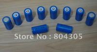 Freeshipping+100pcs x CR123A 123A 16340 3V 1200mAh Rechargeable Battery