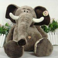 25cm plush toys Christmas gift stuffed  soft toys elephant  factory supply freeshipping