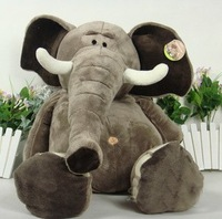 25cm plush toys Christmas gift stuffed  soft toys elephant  factory supply freeshipping