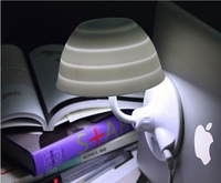 2011 Doulex New Creative table lamp Variety Papa lamp / LED sucker light / USB night-light wholesale free shipping