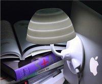 2011 Doulex New Creative table lamp Variety Papa lamp / LED sucker light / USB night-light wholesale free shipping