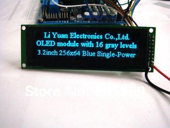 3.2 inch Blue 256x64 OLED oled module oled