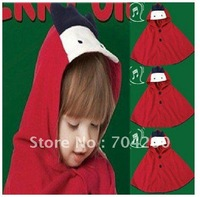 5pcs/lot-red chicken Cloaks/Baby Cape/Kids Coat/Baby Smock/Baby Clothing