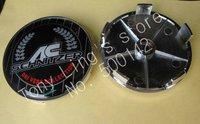 8pcs ABS Chrome Epoxy 68mm Wheel Center Cover Hub Cap Car Emblem Badge For BMW AC Schnitzer Emblems Badges