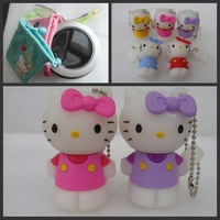 10pcs/lot Usb flash disk 2GB/4GB/8GB Hello Kitty shape Usb Driver 5colors designs