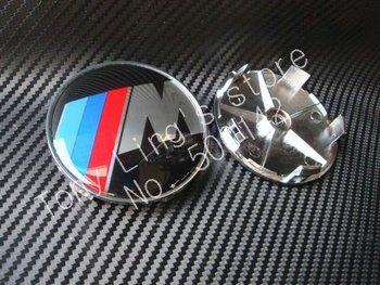 free shipping by EMS 100pcs 68mm m Wheel Center Cover Hub Cap Car Emblem Badge For BMW car badge m Badges m CAR BADGE z-1
