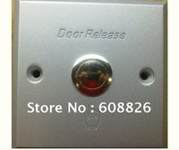 exit button for Acces ,aluminium alloy door release ,Dim: 86Lx86Wx20H(mm) 10pcs/lot, Free Shipping, Wholesale