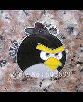 Free Shipping 100pcs zinc alloy metal enamel Bird charms jewelry parts