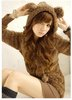 Free shipping NEW Retail 2012 hoodies coat hoodie sweater Rabbit ears top jackets womenRose jacket,women's cute hoody D964640162