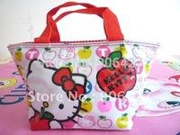 Beautiful Hello kitty cute apple lunch bag #83