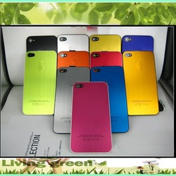 metal housing for iphone 4g 4S, Aluminum metal housing for iphone 4, metal battery back cover for iphone 4S(China (Mainland))