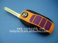 High quality Toyota folding remote key blank