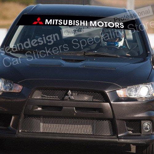 MITSUBISHI MOTORS Windshield Decal Sticker PVC(China (Mainland))