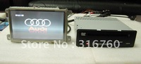 For Audi A6 A8 Q7 (2005-2009) Car DVD Player with GPS Ipod Steering Wheel Control Bluetooth Dual Zone