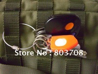Wholesale steel wire keyring,outdoor keyring,rock climbing keychain, &free shipping