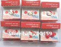 200PCS  HELLO KITTY 3.5 MM Cartoon Mobile Phone Ear Cap Dust Plug  dust plug for lovely ear cap