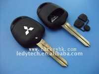 Good quality Mitsubishi 2 Button Remote Key housing With MIT8 Blade Left Side