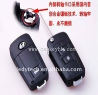 Good quality Hyundai Tucson 2 button flip modified remote key blank